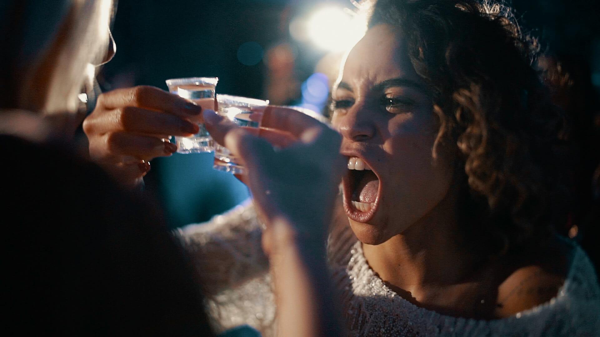 wedding shots tequila